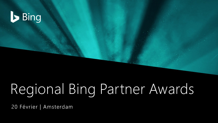 Les Regional Bing Partner Awards: 20 Février
